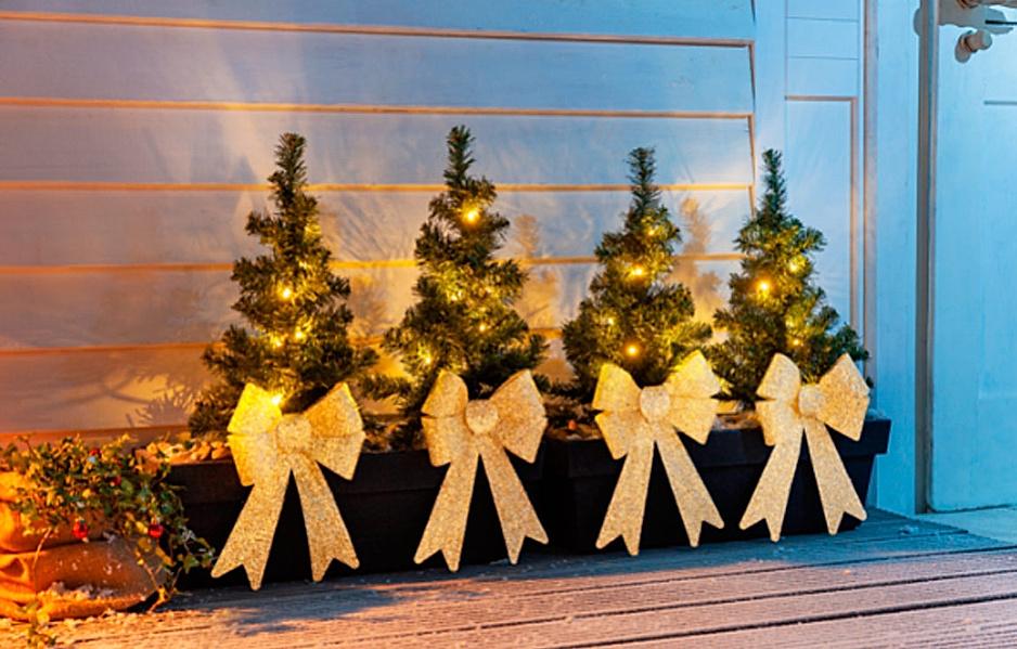 Lichter Weihnachtsbäumchen