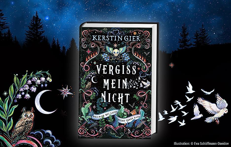 """Wir verlosen 10 Exemplare des neuen Kerstin Gier-Bestsellers """"Vergissmeinnicht"""" mit Signatur"""