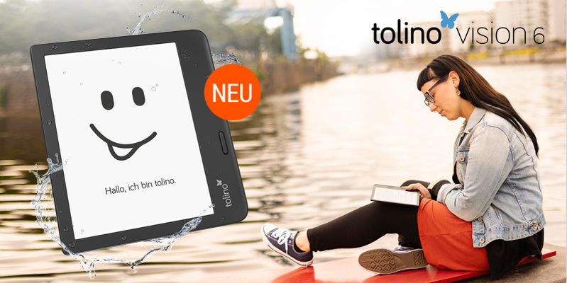 Der neue tolino vision 6 - Jetzt vorbestellen