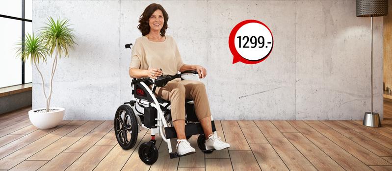 Antar Elektrischer Rollstuhl jetzt bei Orbisana entdecken!