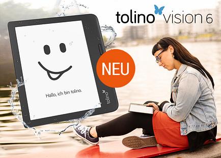 tolino vision 6 entdecken