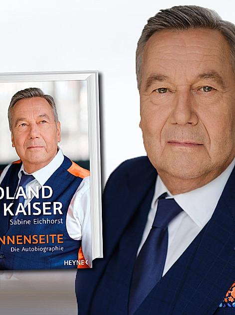 """Roland Kaiser und seine Autobiografie """"Sonnenseite"""""""