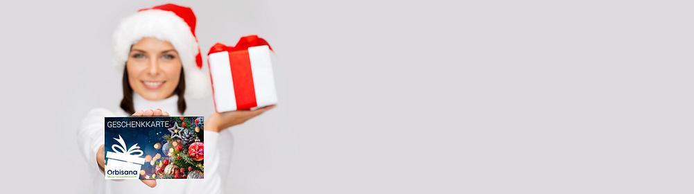 """Orbisana-Geschenkkarten: Schenken Sie Freude und Wohlbefinden!  • Wert nach Wahl von 10 € bis 100 € • sofort ausdrucken oder per Mail versenden • Das perfekte Last-Minute-Geschenk  {{ button href=""""/empfehlungen/geschenkkarten"""" text=""""Hier individualisieren"""" style=""""border-color:#162864; background:#162864; color:#ffffff""""}}"""