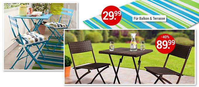 Bild Garten- und Balkonmöbel