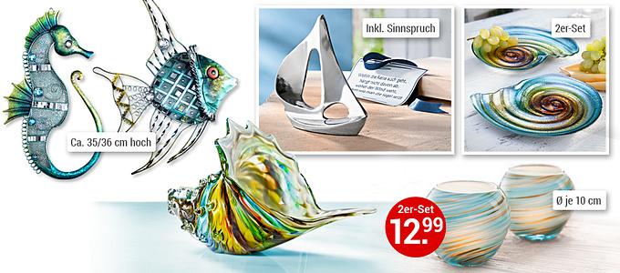 Bild-Collage Maritime Deko