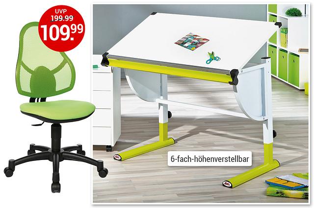 Bild Update Schreibtische/Stühle