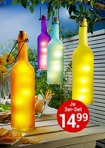 Bild LED-Flaschen
