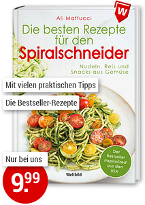 Bild Kochbuch Spiralschneider