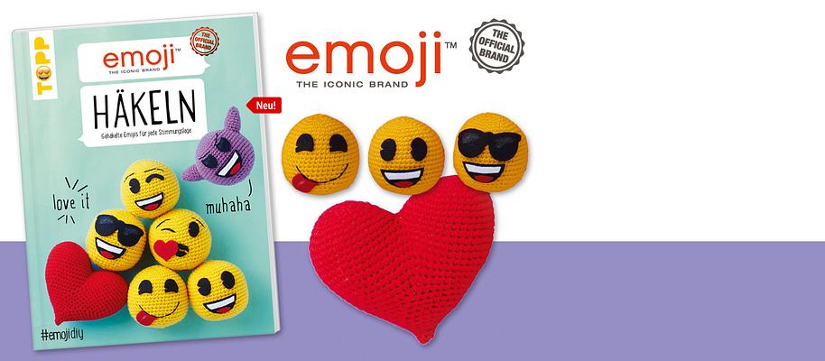"""#Man muss sie lieben: Gehäkelte emojis# Als Schlüsselanhänger oder Taschen-Charm machen sie unser Leben jetzt auch ausserhalb der digitalen Welt bunter. Ganz einfach gehäkelt und mit aus Filz ausgeschnittenen Gesichtern. **Gehäkelte emojis für jede Stimmungslage:** Sind wir happy, dann lacht das emoji mit. Sind wir cool, begleitet uns das Sonnenbrillen-emoji. Sind wir verknallt, dann verschenken wir natürlich Herzchenaugen ...       {{ button href=""""/artikel/buch/emoji-haekeln_21655360-1"""" text=""""Zum Buch""""}}"""