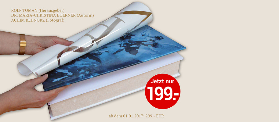 """##Das neue Buch der Superlative##  * 800 Seiten * Über 1.100 Farbfotografien * Großformat: 29 x 44 cm * 11 kg schwer, Buchdicke 9cm * 2 aufklappbare Altarfalze mit einer Spannbreite von über 1 Meter * 2 aufklappbare Poster mit einer Größe von 50 x 80 cm * 2 Lesebänder * Hardcovereinband * Fadengehefteter Handeinband in Oxford-Hollow-Bindung * Kratzfester Kunststoff-Schutzumschlag.   **Gleich anfordern und 100.– EUR sparen!**   ###Angelus & Diabolus### {{ priceblock wosin=""""21467771-1"""" }}"""