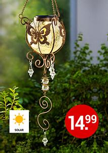 Bild Solarhänger Schmetterling