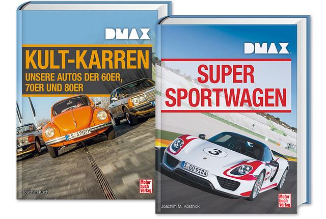 DMAX Super Sportwagen + DMAX Kult-Karren