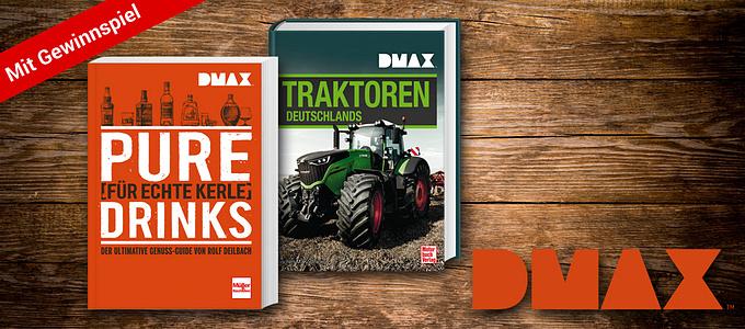 Echte Superlativen: DMAX Bücher
