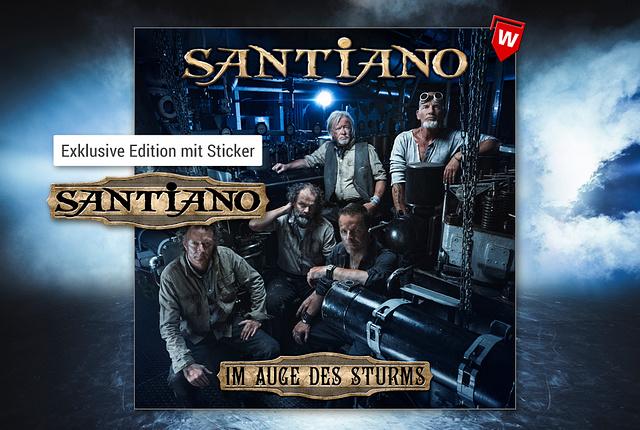 Santiano - Im Auge des Sturms (Limitierte Deluxe Edition)