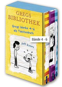 Gregs Bibliothek, Bände 4 - 6 im Schuber