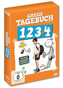 Gregs Tagebuch 1 - 4 (DVDs)
