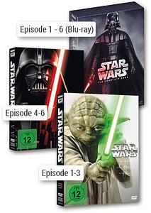 Bild Star Wars DVDs