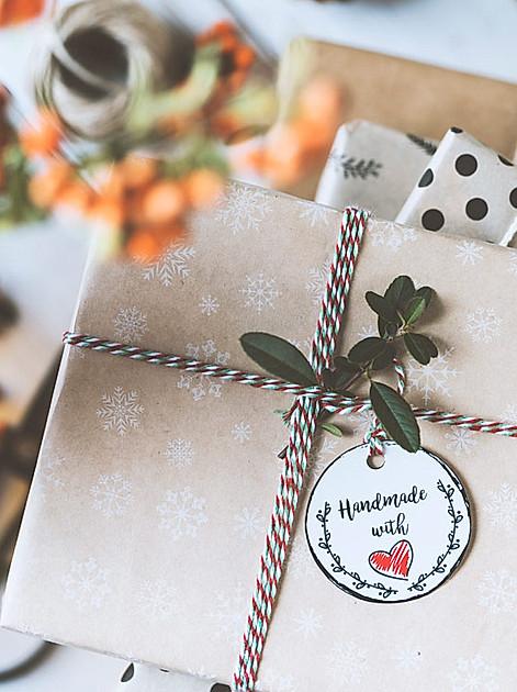 Handmade with love: Selbstgemachtes verschenkt man auch gerne