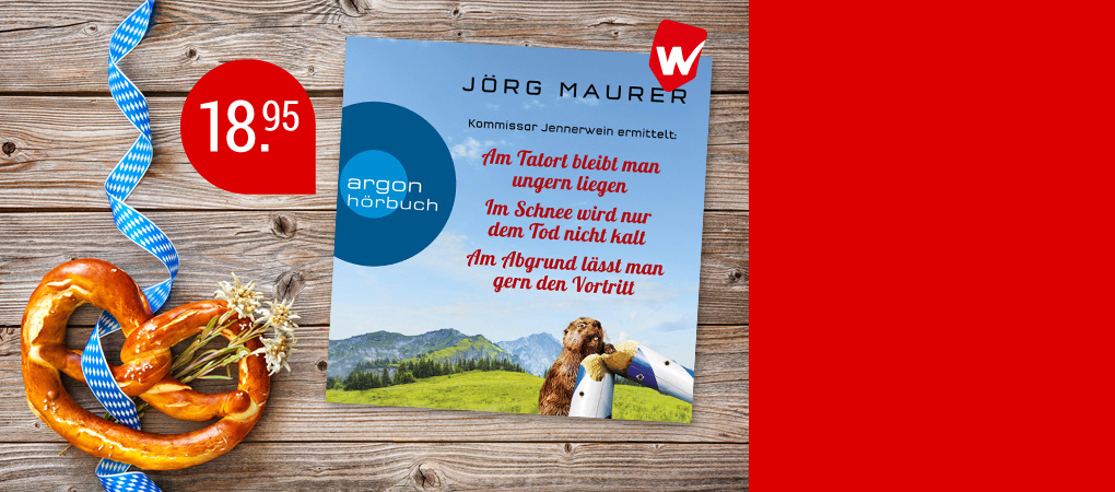 Nur bei Weltbild als Set: 3 Bestseller von Jörg Maurer für nur 13.99 €