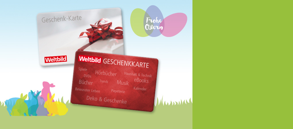 Geschenkkarten zu Ostern