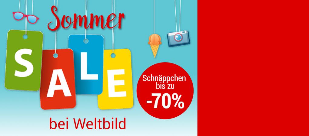Sommer-Sale bei Weltbild: jetzt günstige Angebote sichern!