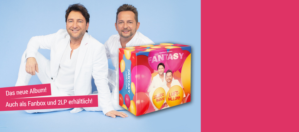 Fantasy - 10.000 Luftballons CD hier kaufen