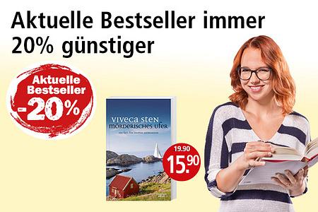20% auf alle Bestseller