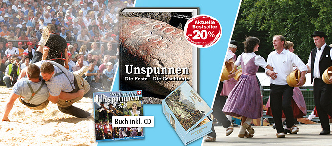 Unspunnen Buch und CD